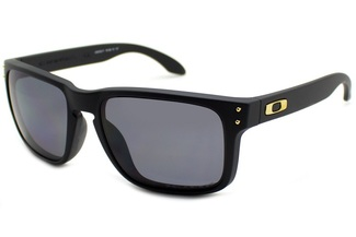 Oakley Holbrook Matte Black Grey Polarized Shaun White