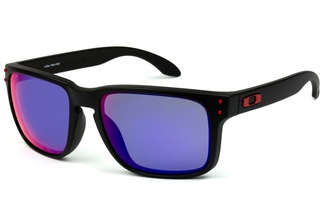 Óculos de Sol Oakley Holbrook Mate Black Positive Red Iridium