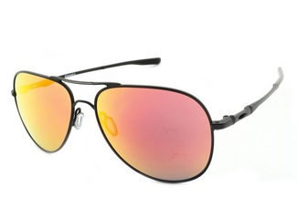 Oakley Elmont Satin Black/Ruby Iridium