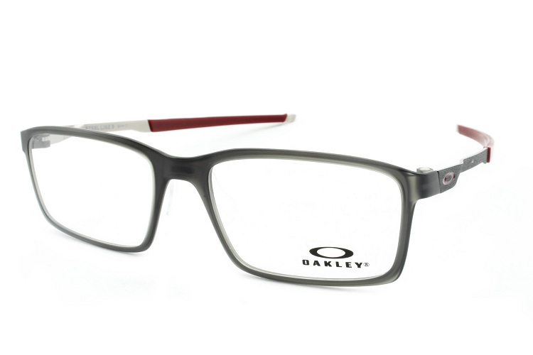2518131cd Image description; caa4b73e5bd3e Armação Óculos Oakley Steel Line S Matte  Black Ink - Oakley - Ótica .