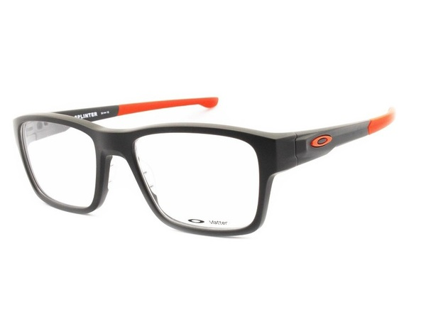 Armação Oakley Splinter OX8077 Satin Flint/Orange