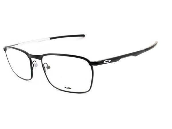 Óculos Grau Oakley Conductor Satin Black / White OOX3186