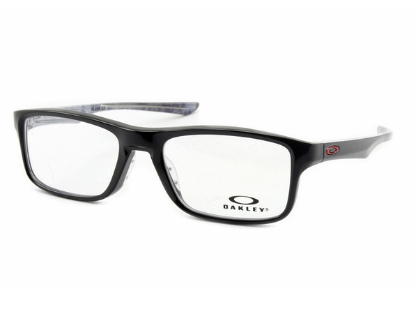Óculos Grau Oakley Plank 2.0 Ox8081-0253 Polished Black
