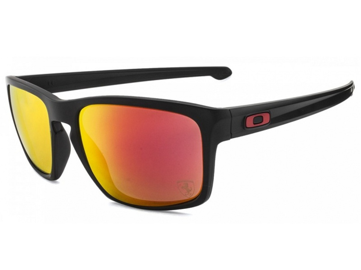 OAKLEY SLIVER OO9262 12 matte black / ruby iridium lens - SCUDERIA FERRARI COLLECTION principal