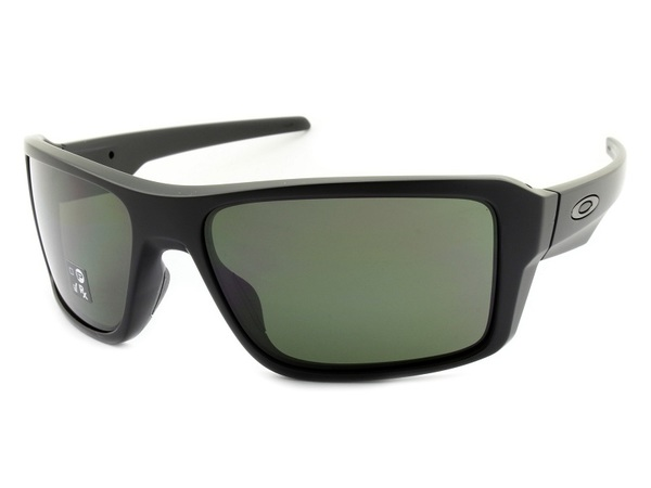Óculos Oakley Double Edge Matte Black Dark Grey OO9380 01 66
