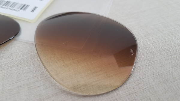 Lentes Ray-Ban Aviador RB3025 RB3026 Marrom Degrade Tam. 62