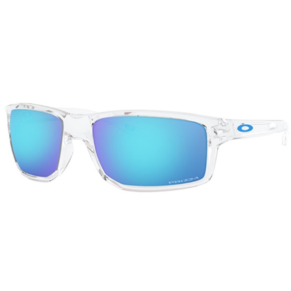 Oakley Gibston Polished Clear Prizm Sapphire Iridium Oo9449 04