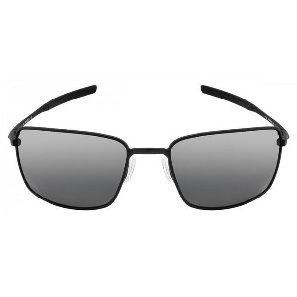 OAKLEY SQUARE WIRE OO4075 05 MATTE BLACK BLACK IRIDIUM POLARIZED