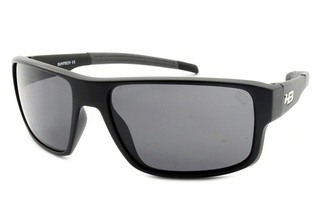 Óculos de Sol HB Epic Matte Black Gray Lenses - 90132