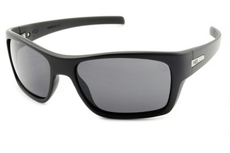 Óculos de Sol HB Monster Fish Matte Black Gray Lenses - 90134