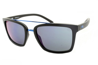 3892e5914 Óculos de Sol HB Spencer Matte Black D.Blue - 90130 ...