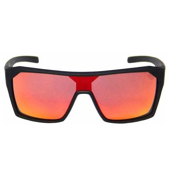 HB Carvin 2.0 Matte Black Red Chrome Lenses