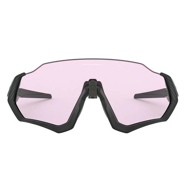 Oakley Flight Jacket Polished Black Prizm Low Light
