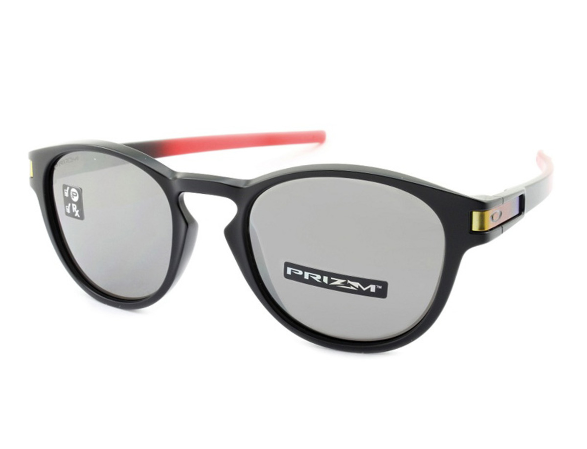 Óculos Oakley Latch Ruby Fade Prizm Black Polarized OO9265-2653 principal
