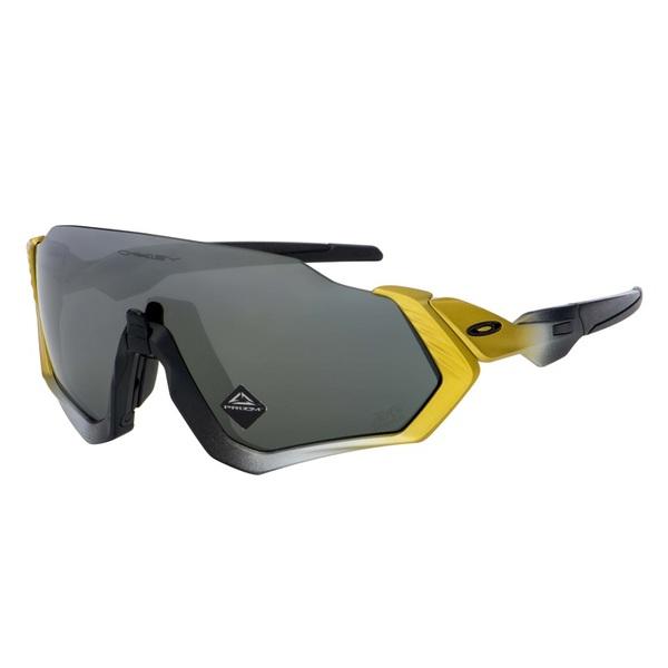 OAKLEY FLIGHT JACKET TOUR DE FRANCE TRIFECTA FADE/PRIZM BLACK