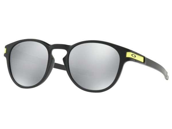 6e74df23d0a24 Oakley Latch VR 46 Valentino Rossi Collection   Matte Black Chrome Iridium  ...