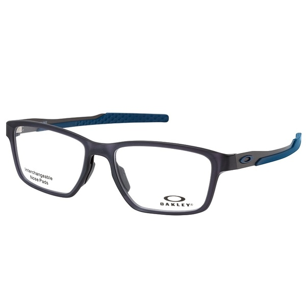 Armação Oakley Metalink Satin Grey Smoke Ox8153 07 55-17
