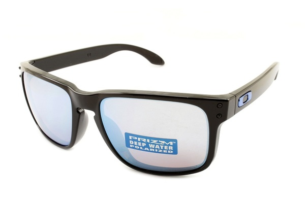 Oakley Holbrook Polished Black Prizm Deep H2O Polarized OO9102