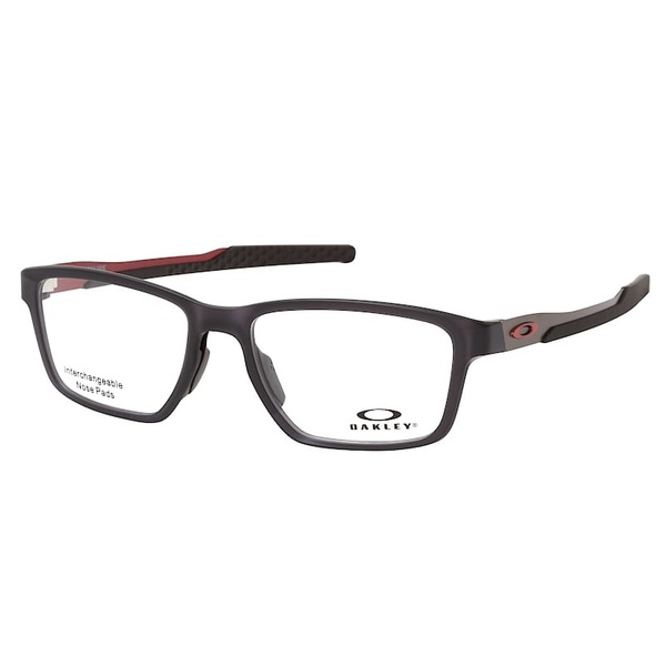 Oakley Metalink Matte Grey Smoke Red Ox8153 05 57