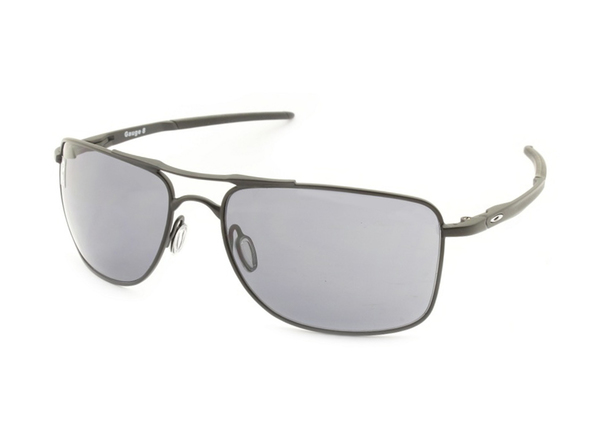 Oakley Gauge 8 Matte Black W/Grey OO4124
