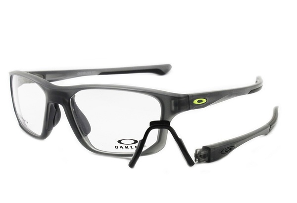 8d73c64a65536 Óculos de Sol Oakley Oph Crosslink Fit Satin Grey Smoke OX8136 0255 ...